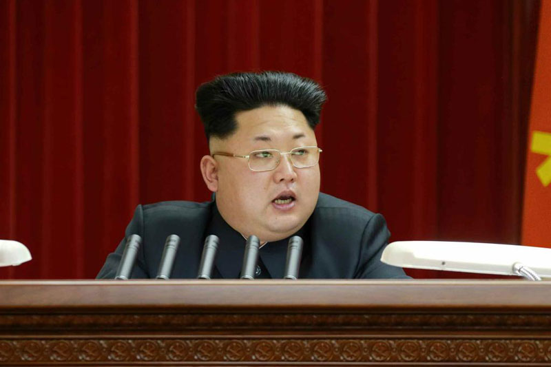 kim jong un new haircut Picture of the Day: Kim Jong Un Gets Guile Inspired Haircut