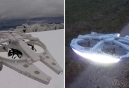 This Guy Built a Millennium Falcon Quadcopter and It's Awesome