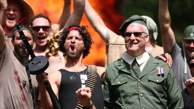These Guys Remade Rambo for their Best Friend's Bachelor Party