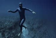 Surreal Video Shows Freediver Riding an Underwater Ocean Current