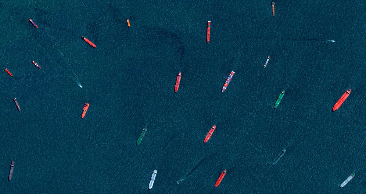 Singapore-Ships