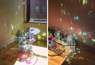 Sparkle Tables that Come to Life with Sunlight