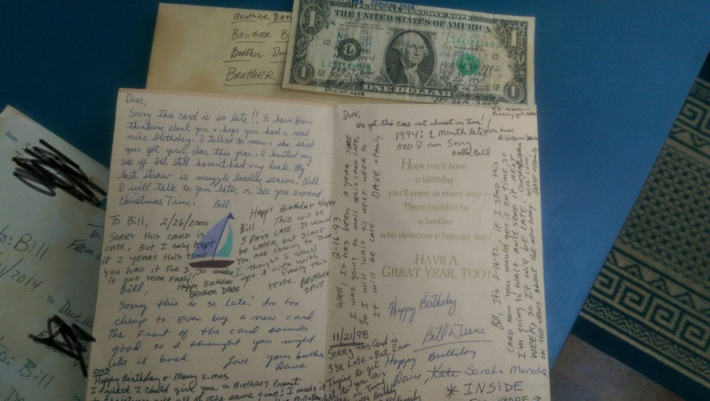 These Two Brothers Have Exchanged the Same Birthday Card Since 1987