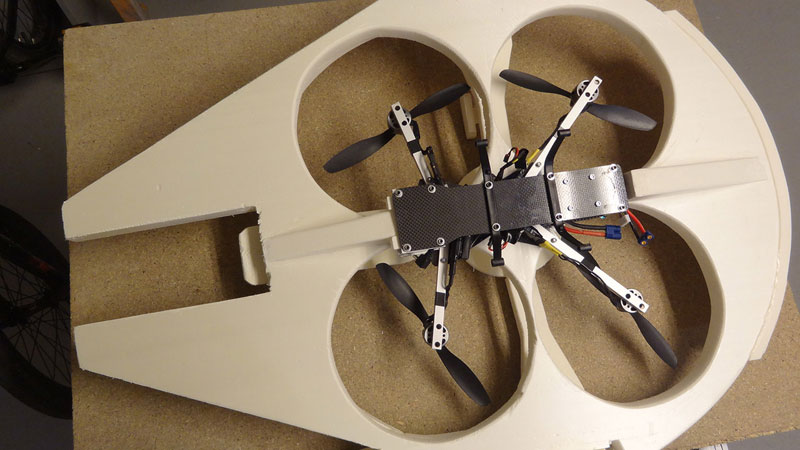 This Guy Built a Millennium Falcon Quadcopter and It's Awesome (13)