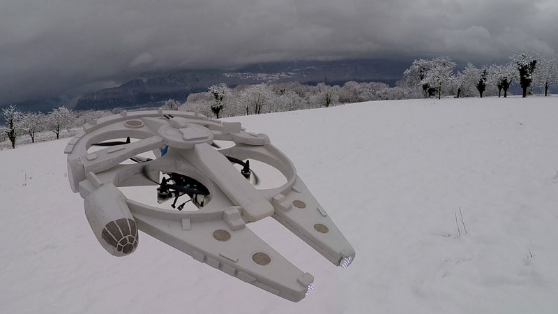 This Guy Built a Millennium Falcon Quadcopter and It's Awesome (23)