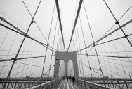 Picture of the Day: Brooklyn Bridge Symmetry