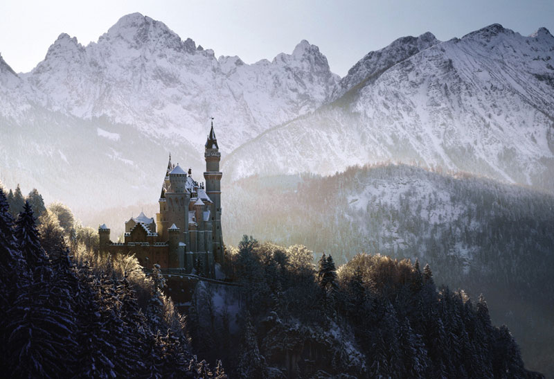 Central European Landscapes Inspired by Grimm's Fairy Tales by Kilian Schongerger (7)