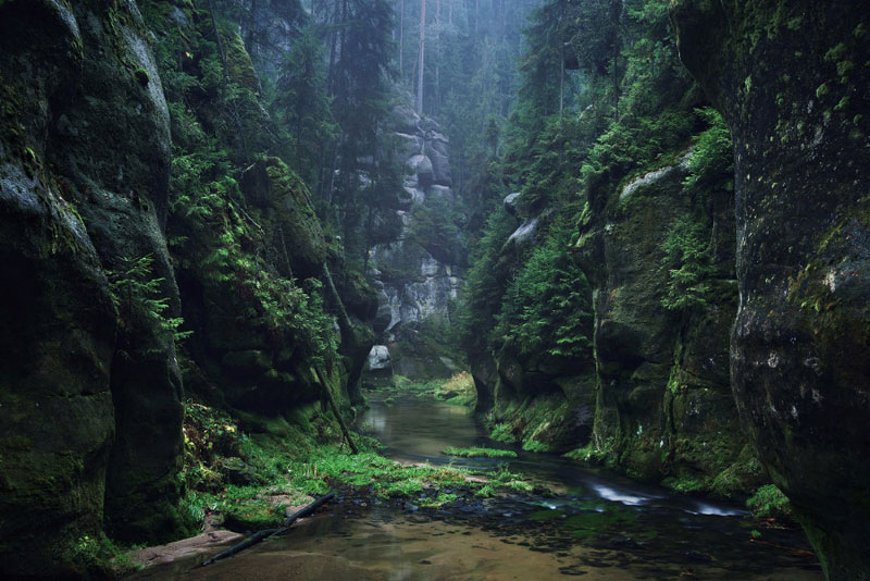 Central European Landscapes Inspired by Grimm's Fairy Tales by Kilian Schongerger (9)