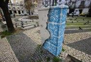 Artist Turns Utility Box Into Ceramic Tile Illusion