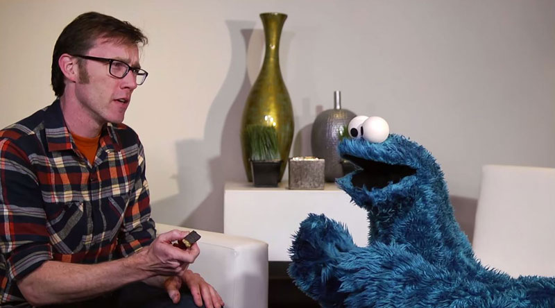 Therapy Sessions with Cookie Monster