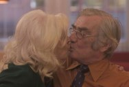 Elderly Couples at a Seniors Disco Talk About Love