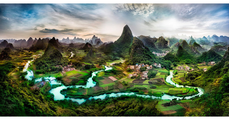Picture of the Day: Northern Guangxi Province, China
