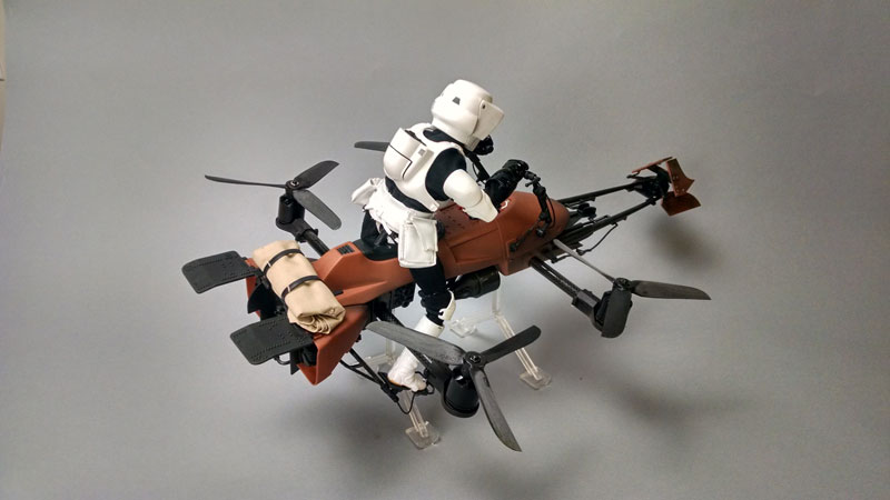 imperial speeder bike quadcopter drone by adam woodworth (1)