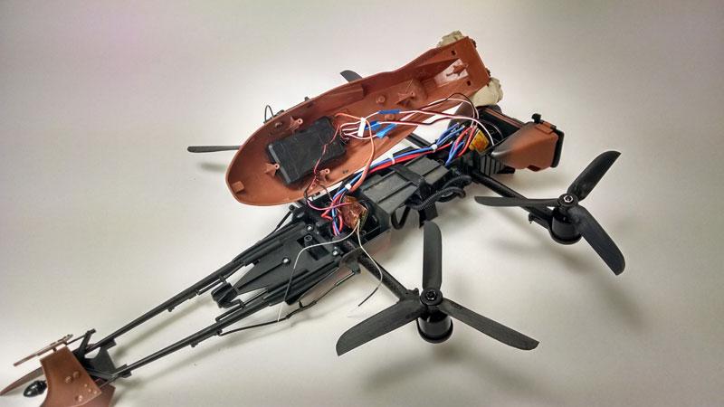 imperial speeder bike quadcopter drone by adam woodworth (6)