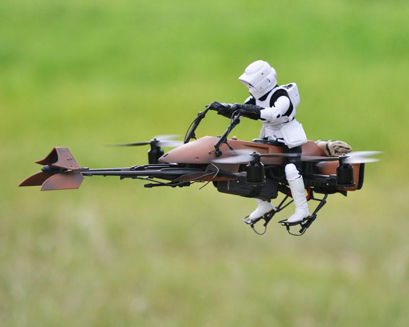 imperial speeder bike quadcopter drone by adam woodworth (8)