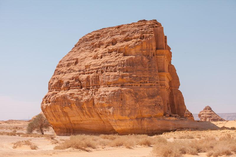 qasr al farid the lonely castle mada'in saleh saudi arabia unesco (1)