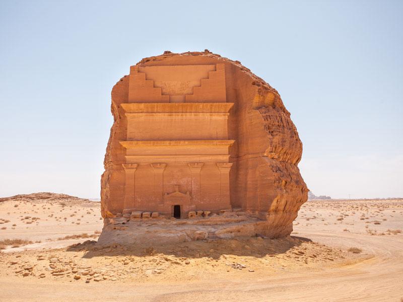 qasr al farid the lonely castle mada'in saleh saudi arabia unesco (2)