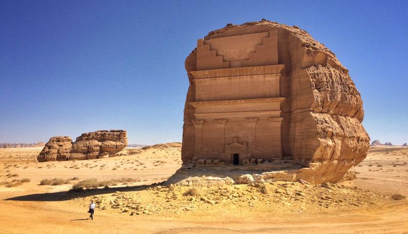 qasr al farid the lonely castle mada'in saleh saudi arabia unesco (4)