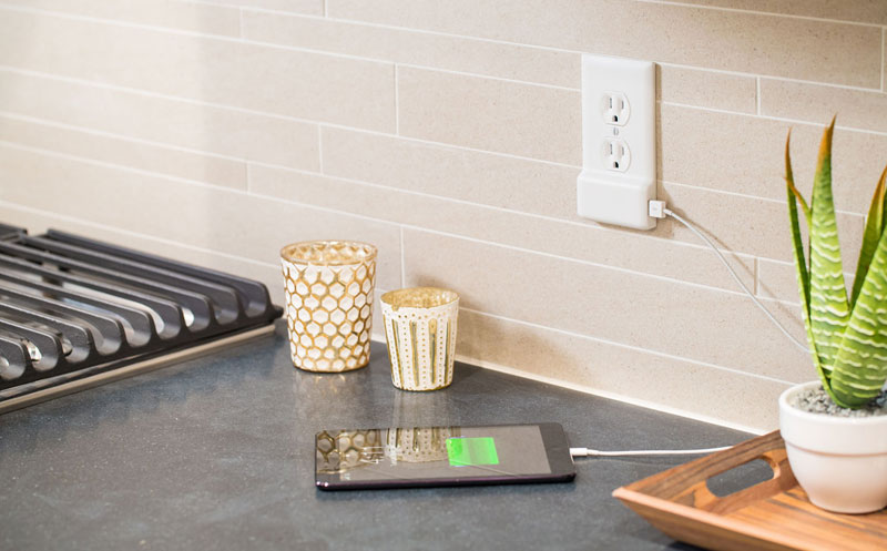 Forget Chargers, this USB Wall Plate Frees Up Your Outlets in Seconds