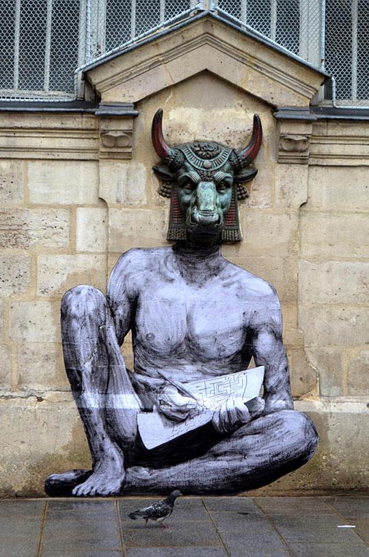 street art in paris by levalet (1)
