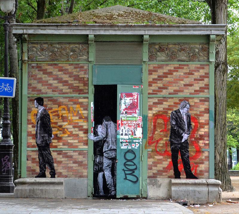 street art in paris by levalet (13)