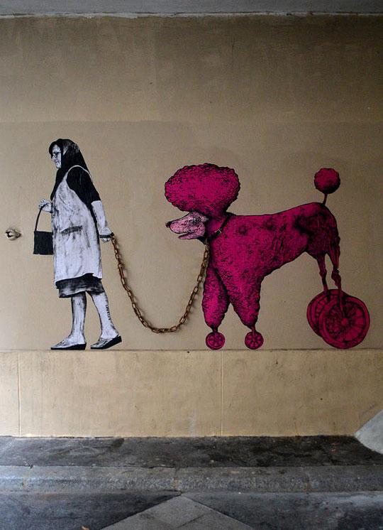 street art in paris by levalet (14)