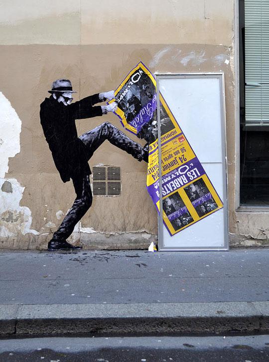 street art in paris by levalet (19)