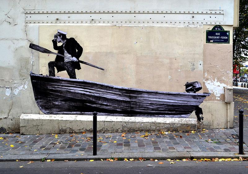 street art in paris by levalet (26)