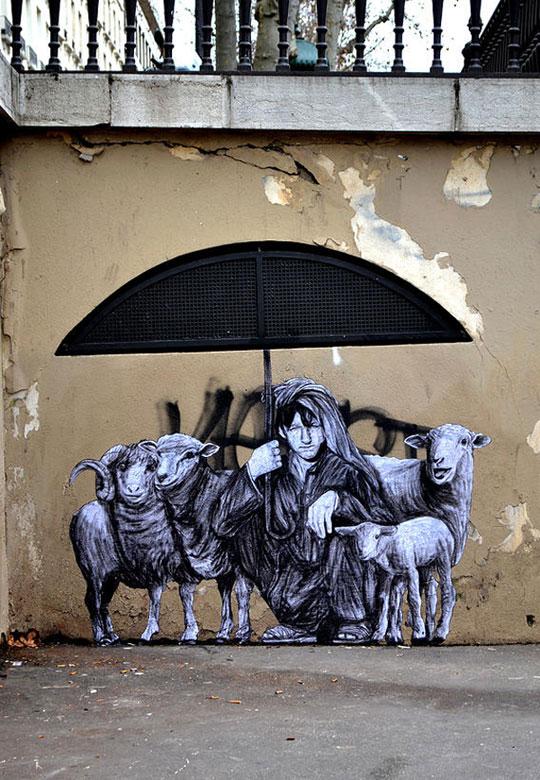 street art in paris by levalet (4)