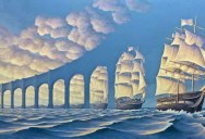 23 Mind Bending Optical Illusion Paintings by Rob Gonsalves
