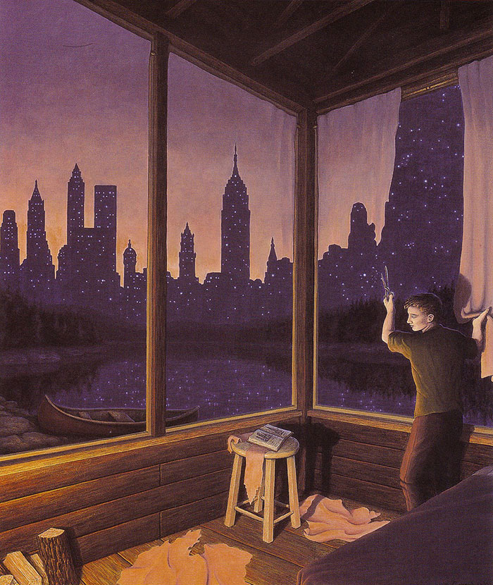 surreal optical illusion paintings by rob gonsalves (19)