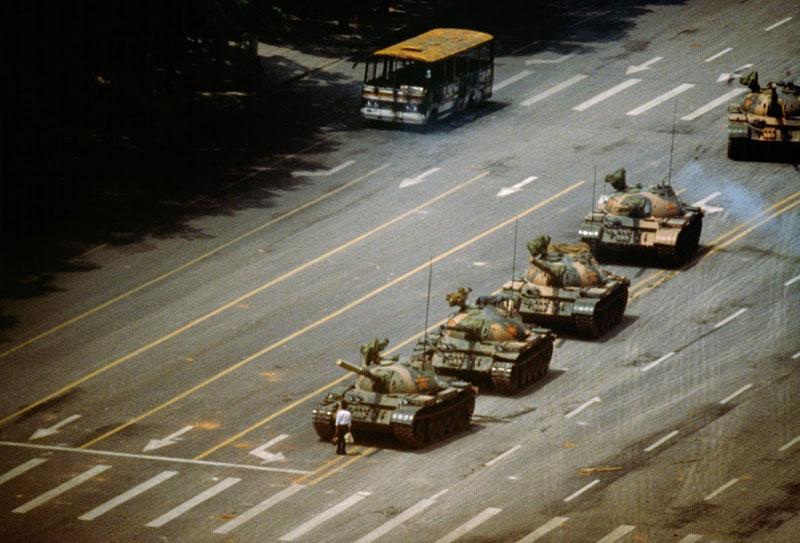 tank man tiannemen square 3D Replicas of 7 Historic Photos