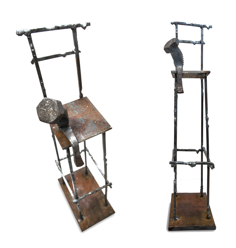 tobbe malm transforms steel bolts into evocative sculptures (7)