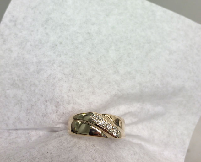 Wedding Ring Restoration Afer Falling Into a Garbage Dispoal (16)