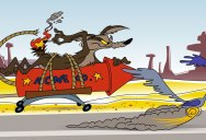 Chuck Jones' 9 Golden Rules for the Coyote and the Road Runner