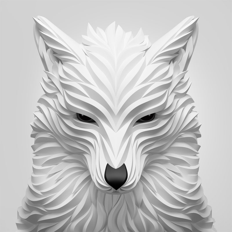 Wolf and Hoof 3D Animals by Maxim Shkret (10)