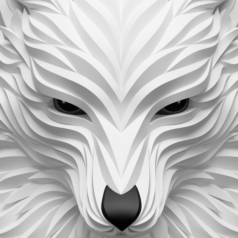 Wolf and Hoof: 3D Animals by Maxim Shkret
