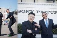 So Barack Obama and Kim Jong Un Impersonators Met in LA Recently…
