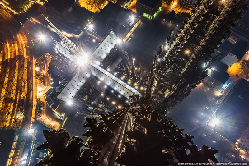 Picture of the Day: Cologne Cathedral from the Top of a Spire