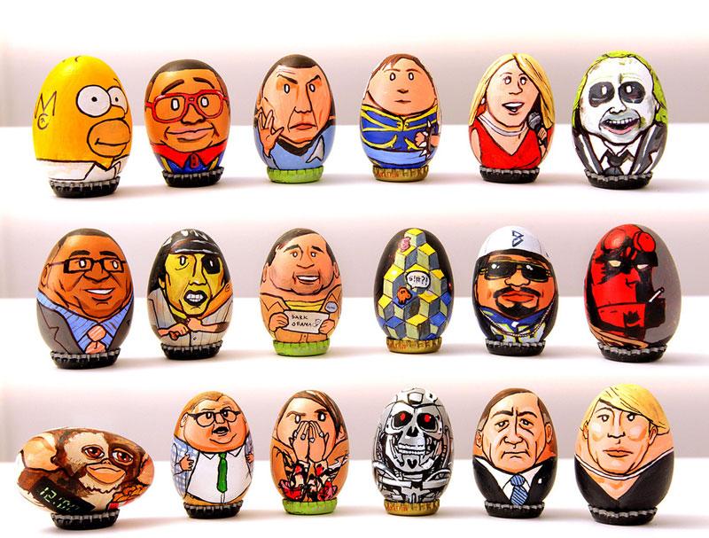 easter egg paintings by barak hardley (1)