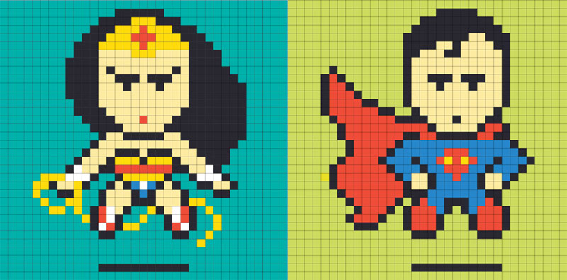 Employee Uses Post-Its to Turn Drab Office Walls Into Giant Superhero Murals (22)