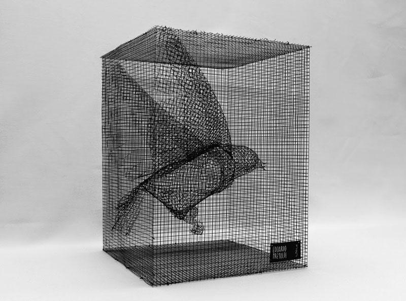 figurative wire mesh sculptures by Edoardo Tresoldi (2)