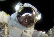 Astronaut Takes a GoPro for a Spacewalk