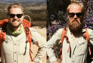 Picture of the Day: Hiking from Mexico to Canada   Before and After