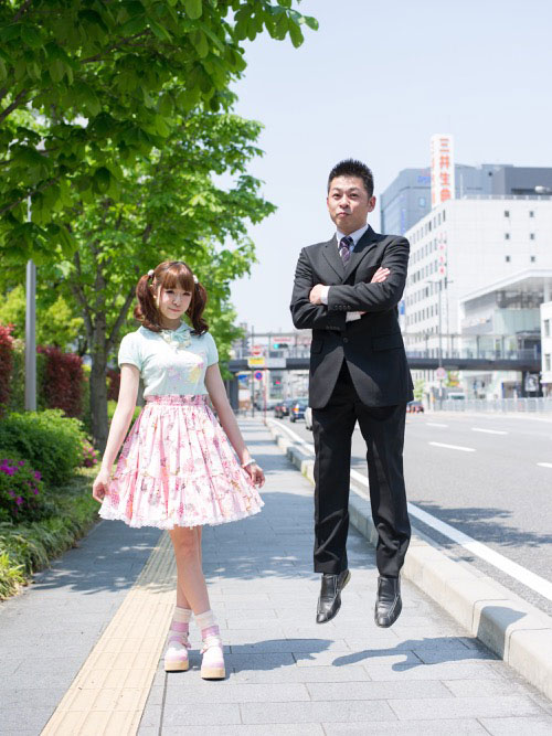 Japanese Businessmen Jumping Beside their Daughters by yuki aoyama (7)
