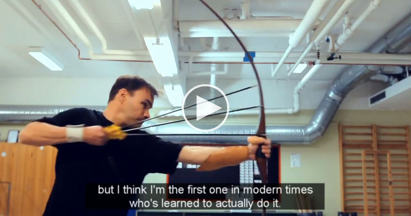 Guy Who Made the Most Viewed Archery Video of All Time Responds to the Haters