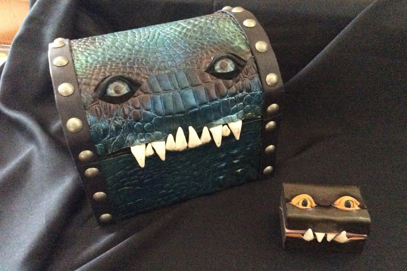 leather monster bags and boxes by mellie z fine line leather design (10)
