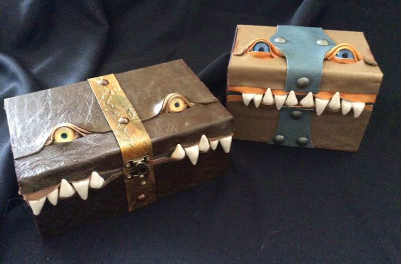 leather monster bags and boxes by mellie z fine line leather design (11)