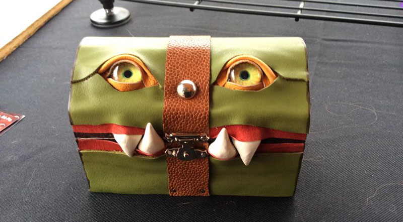 leather monster bags and boxes by mellie z fine line leather design (13)