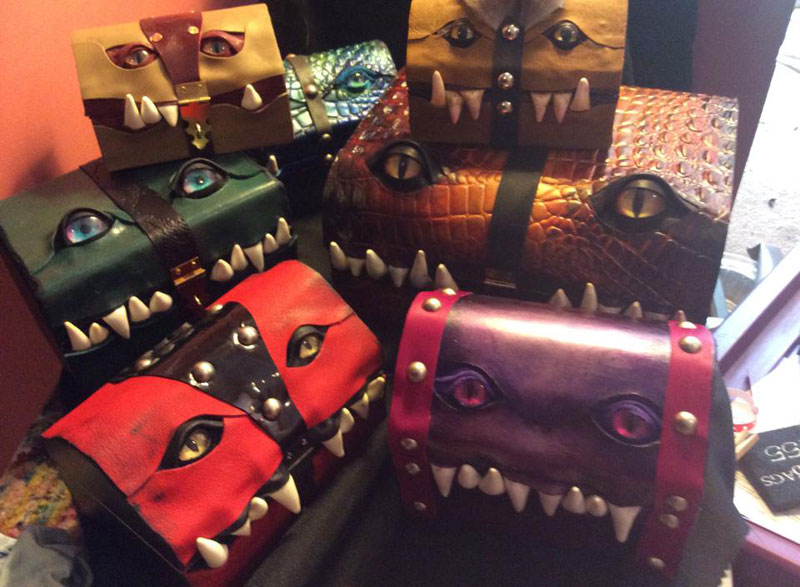 leather monster bags and boxes by mellie z fine line leather design (15)